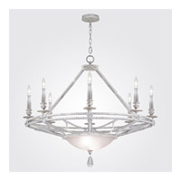 Fine Art Lamps Prussian Neoclassic 8 Light Chandelier in  Prussian Silver Gray 858840-12ST