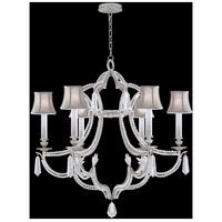 Fine Art Lamps Prussian Neoclassic 6 Light Chandelier in  Prussian Silver Gray 859040-11ST