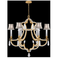 Fine Art Lamps 859040-21ST Prussian Neoclassic 6 Light 34 inch Gold Chandelier Ceiling Light