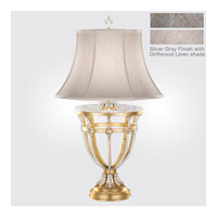 Fine Art Lamps Prussian Neoclassic 1 Light Table Lamp in Prussian Silver Gray 859510-1ST