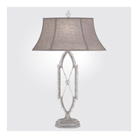 Fine Art Lamps Prussian Neoclassic 1 Light Table Lamp in Prussian Silver Gray 859610-1ST