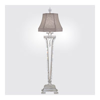 Prussian Neoclassic 38 inch 60 watt Prussian Silver Gray Console Lamp Portable Light
