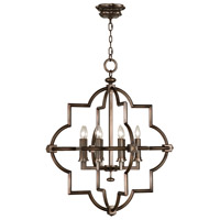 Liaison 8 Light 30 inch Antique Hand-Rubbed Bronze Pendant Ceiling Light