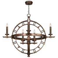 Fine Art Lamps 860140ST Liaison 8 Light 37 inch Bronze Pendant Ceiling Light