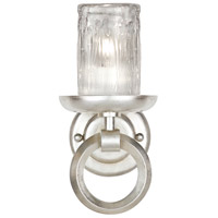 Liaison 1 Light 6 inch Platinized Silver Leaf Sconce Wall Light