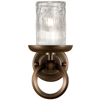 Fine Art Lamps Liaison 1 Light Sconce in Antique Hand-Rubbed Bronze 860950ST