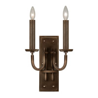 Fine Art Lamps Liaison 2 Light Sconce in Antique Hand-Rubbed Bronze 861150ST