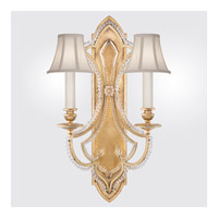 Fine Art Lamps Prussian Neoclassic 2 Light Wall Sconce in Brandenburg Gold Leaf 861450-21ST