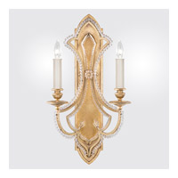 Fine Art Lamps Prussian Neoclassic 2 Light Wall Sconce in Brandenburg Gold Leaf 861450-22ST