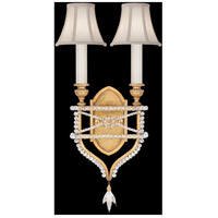 Fine Art Lamps Prussian Neoclassic 2 Light Wall Sconce in Brandenburg Gold Leaf 861650-21ST