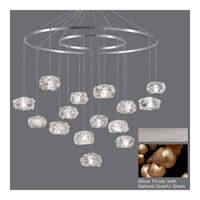 Fine Art Lamps Natural Inspirations 15 Light Drop Light in Silver Leaf 862040-14ST