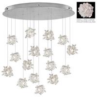 Fine Art Lamps 862840-105ST Natural Inspirations 16 Light 32 inch Silver Pendant Ceiling Light