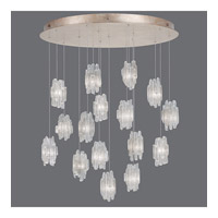 Fine Art Lamps Natural Inspirations 16 Light Pendant in Gold Toned Silver Leaf 862840-201ST