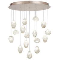 Fine Art Lamps 862840-21ST Natural Inspirations 16 Light 32 inch Gold Drop Light Ceiling Light