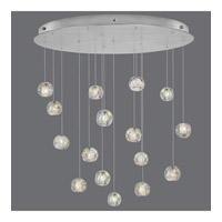 Natural Inspirations 16 Light 32 inch Silver Drop Light Ceiling Light