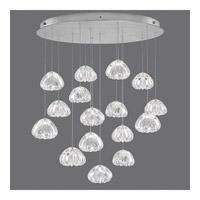 Fine Art Lamps 862840-107ST Natural Inspirations 16 Light 32 inch Silver Pendant Ceiling Light