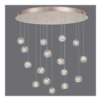 Fine Art Lamps 862840-206ST Natural Inspirations 16 Light 32 inch Gold Drop Light Ceiling Light