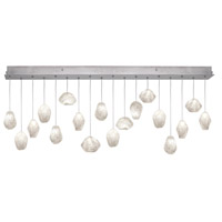 Fine Art Lamps Natural Inspirations 16 Light Drop Light in Silver Leaf 863040-13ST
