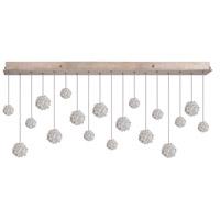 Fine Art Lamps 863040-205ST Natural Inspirations 18 Light 54 inch Gold Drop Light Ceiling Light