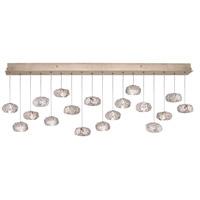 Fine Art Lamps 863040-21ST Natural Inspirations 18 Light 17 inch Gold Pendant Ceiling Light