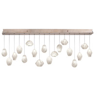 Fine Art Lamps 863040-23ST Natural Inspirations 18 Light 17 inch Gold Pendant Ceiling Light