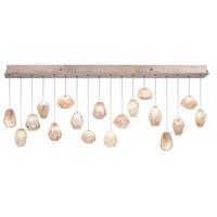 Fine Art Lamps 863040-24ST Natural Inspirations 18 Light 17 inch Gold Pendant Ceiling Light