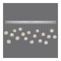 Natural Inspirations 18 Light 54 inch Silver Drop Light Ceiling Light