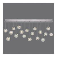 Fine Art Lamps 863040-106ST Natural Inspirations 18 Light 54 inch Silver Pendant Ceiling Light
