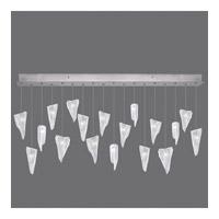 Fine Art Lamps 863040-108ST Natural Inspirations 18 Light 54 inch Silver Pendant Ceiling Light