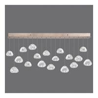 Fine Art Lamps 863040-207ST Natural Inspirations 18 Light 54 inch Gold Drop Light Ceiling Light