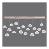 Fine Art Lamps 863040-207ST Natural Inspirations 18 Light 54 inch Gold Pendant Ceiling Light