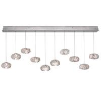 Fine Art Lamps 863240-11ST Natural Inspirations 10 Light 11 inch Silver Pendant Ceiling Light