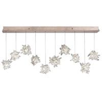 Fine Art Lamps 863240-202ST Natural Inspirations 10 Light 11 inch Gold Pendant Ceiling Light