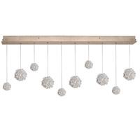 Fine Art Lamps 863240-205ST Natural Inspirations 10 Light 48 inch Gold Drop Light Ceiling Light