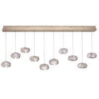 Fine Art Lamps 863240-21ST Natural Inspirations 10 Light 11 inch Gold Pendant Ceiling Light