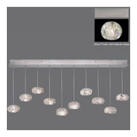 Natural Inspirations 10 Light 48 inch Silver Drop Light Ceiling Light