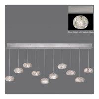 Fine Art Lamps 863240-106ST Natural Inspirations 10 Light 48 inch Silver Drop Light Ceiling Light