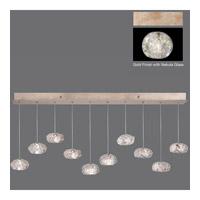 Fine Art Lamps 863240-206ST Natural Inspirations 10 Light 48 inch Gold Drop Light Ceiling Light