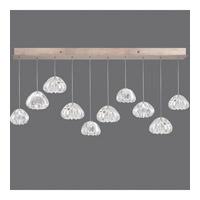 Fine Art Lamps 863240-207ST Natural Inspirations 10 Light 48 inch Gold Pendant Ceiling Light