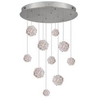 Fine Art Lamps 863540-105ST Natural Inspirations 10 Light 22 inch Silver Drop Light Ceiling Light