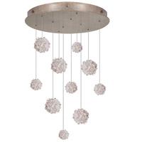 Fine Art Lamps 863540-205ST Natural Inspirations 10 Light 22 inch Gold Pendant Ceiling Light