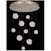 Fine Art Lamps 863540-205LD Natural Inspirations 10 Light 22 inch Gold Pendant Ceiling Light