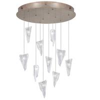 Fine Art Lamps 863540-208LD Natural Inspirations Led 10 Light 22 inch Gold Drop Light Ceiling Light