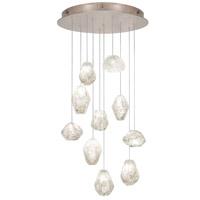 Fine Art Lamps 863540-23ST Natural Inspirations 10 Light 22 inch Gold Pendant Ceiling Light