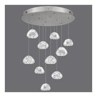 Fine Art Lamps 863540-107ST Natural Inspirations 10 Light 22 inch Silver Pendant Ceiling Light