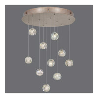 Natural Inspirations 10 Light 22 inch Gold Drop Light Ceiling Light