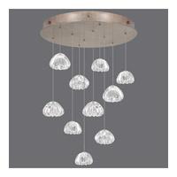 Fine Art Lamps 863540-207ST Natural Inspirations 10 Light 22 inch Gold Pendant Ceiling Light