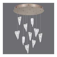 Fine Art Lamps 863540-208ST Natural Inspirations 10 Light 22 inch Gold Drop Light Ceiling Light