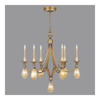 Quartz and Iron 13 Light 30 inch Florentine Gold Leaf Chandelier Ceiling Light