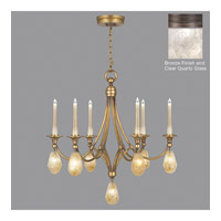 Fine Art Lamps Quartz and Iron 13 Light Chandelier in Bronze 864240-31ST